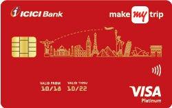 MakeMyTrip ICICI Bank Platinum Credit Card