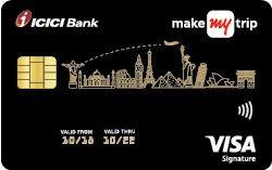 MakeMyTrip ICICI Bank Signature Credit Card