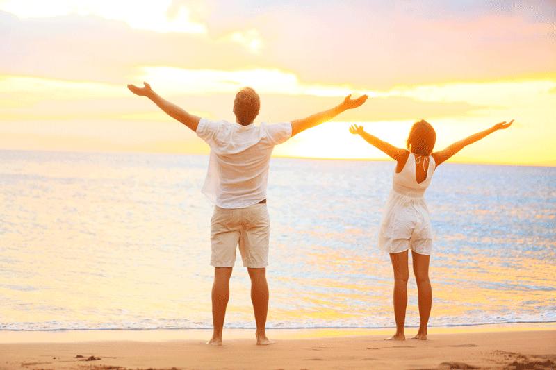 Deine Lebensvision führt dich auch in die Fülle der Liebe.