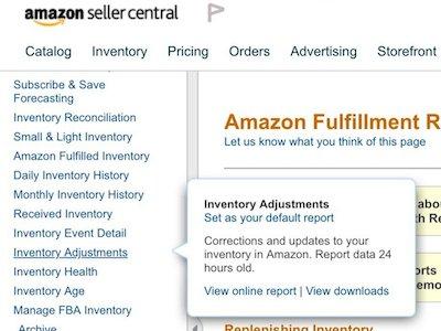 Amazon Damaged Inventory Problem