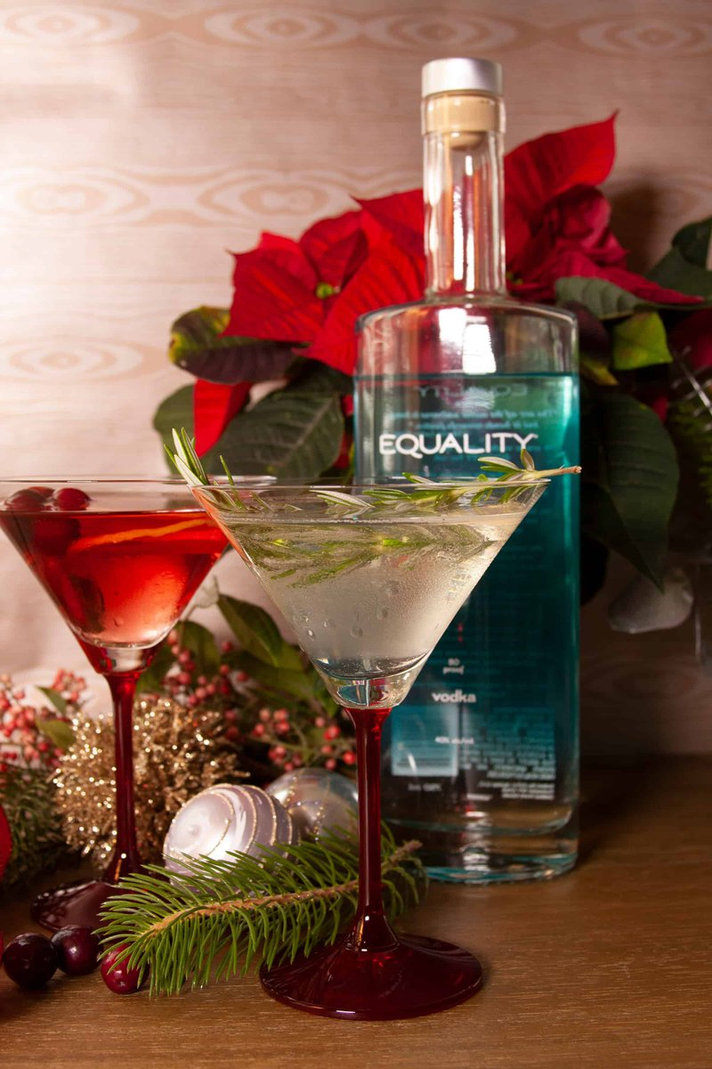 Equality Vodka Best Vodka Mixers for Holiday Cocktails