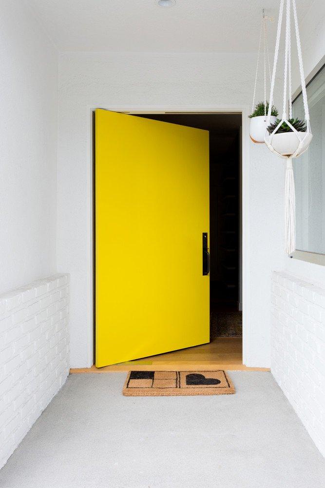 gele deur inspiratie