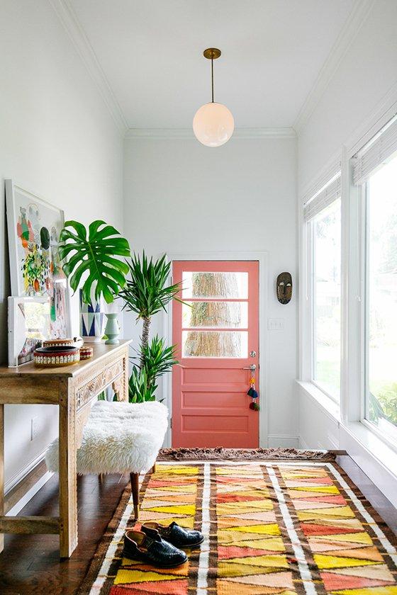 Kleuren voordeur
