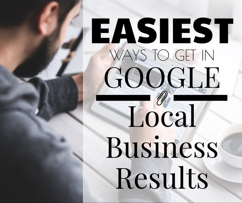Title Image for Easiest Ways To Get in Google Local Business Results article