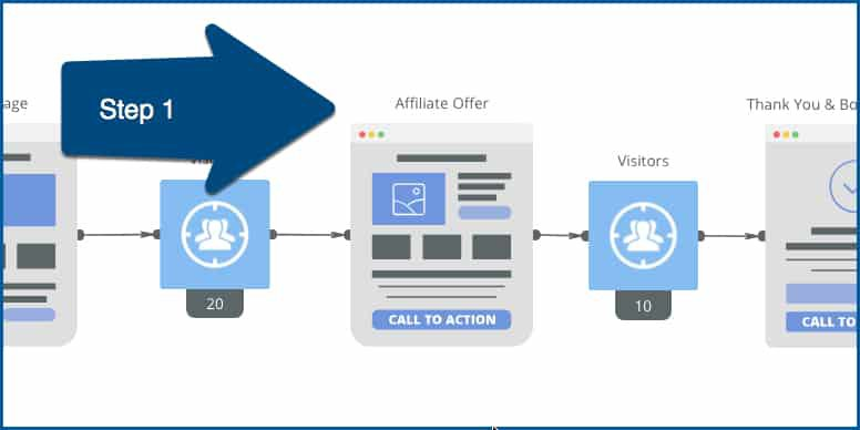 Step One UpViral Affiliate Campaigns