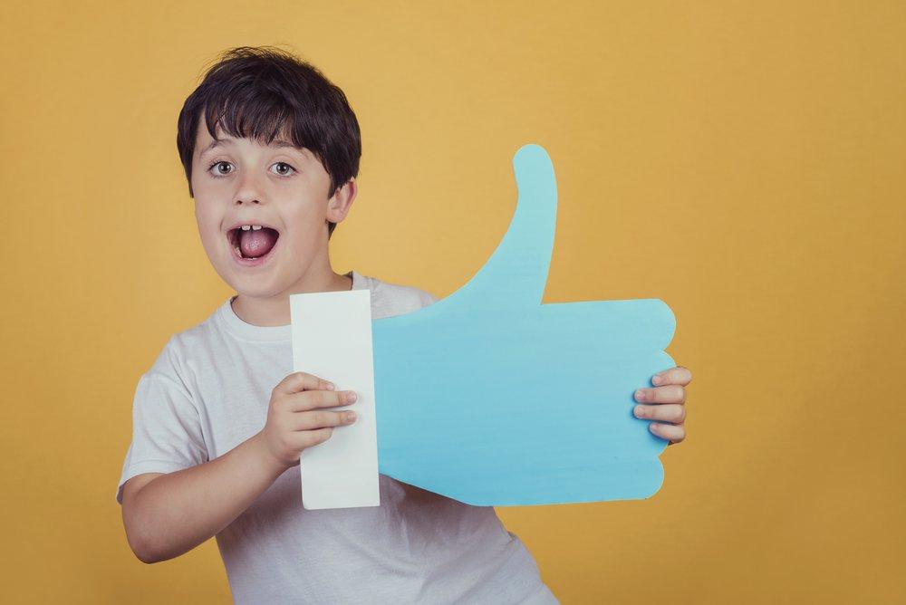 Facebook positieve reacties