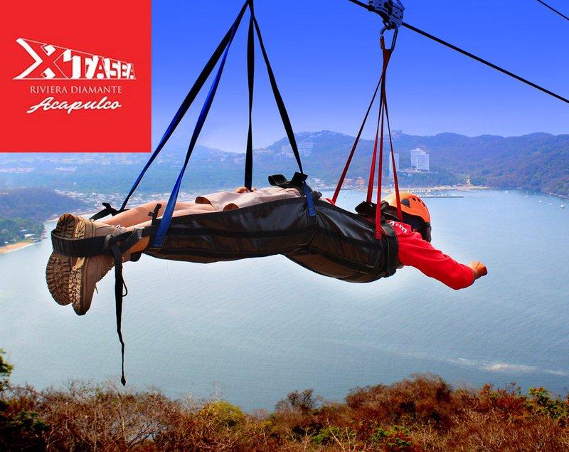 Xtasea - Tirolesa Acapulco Zip Line. The Longest Zip Line Over the Ocean in the Word!