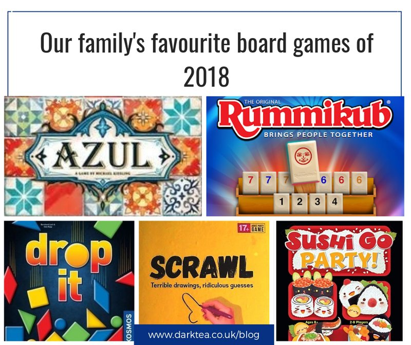 our family's favourite board games