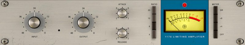 mix:analog 1176 Rev. A Bluestripe compressor/limiter