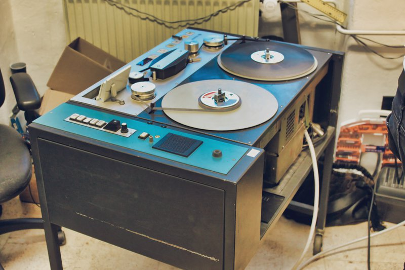telefunken m15 tape machine mainteanance