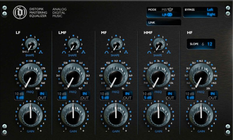 mix:analog Precision Series Mastering Equalizer