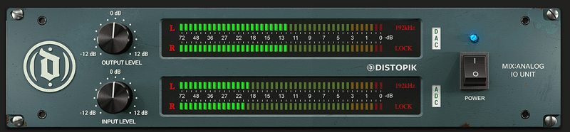 mixanalog audio io meters updated