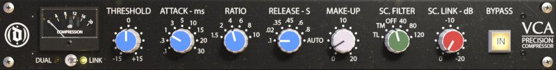 mixanalog vca gold can gui