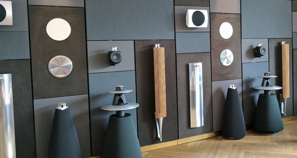 bang & olufsen speakers you can see in soundhub
