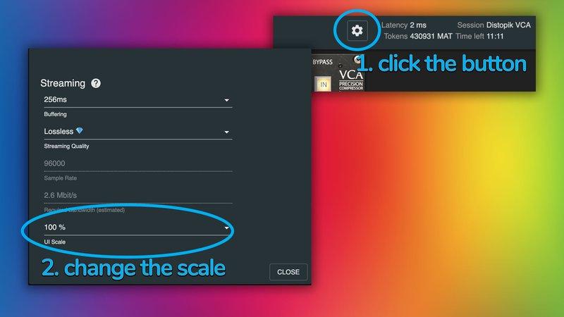 settings ui scaling dialog mixanalog