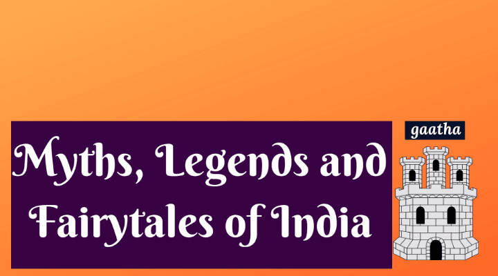 Banner for Myths, Legends and Fairytales of India Podcast