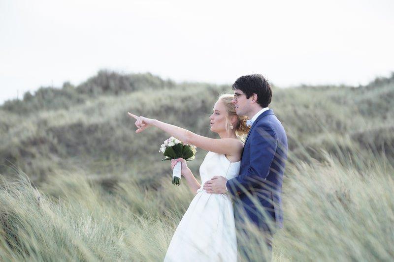 Huwelijksreportage tussen de duinen - AF Fotografie - Fotograaf huwelijk - House of Weddings