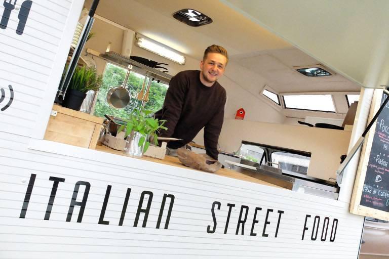 Campo's. Hippe italiaanse foodtrucks met mogelijkheid tot barbeque, antipasta of verse pasta. -House of Weddings