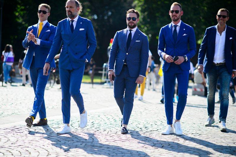 Mannen in blauw maatpak door Rutger Zantino - House of Weddings