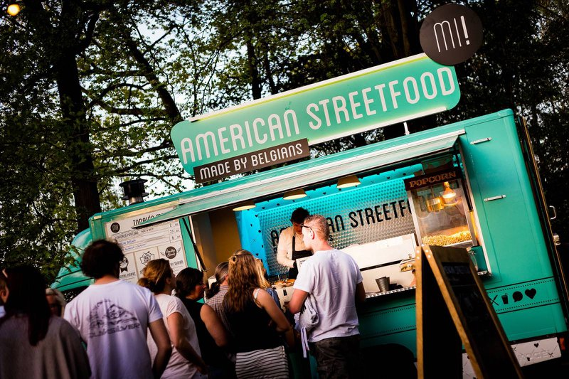 Foodtruck - American Streetfood - Festival Wedding - Foodtruck Wedding - House of Weddings