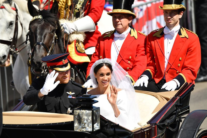 Harry en Meghan huwelijk trouwkoets - House of Weddings