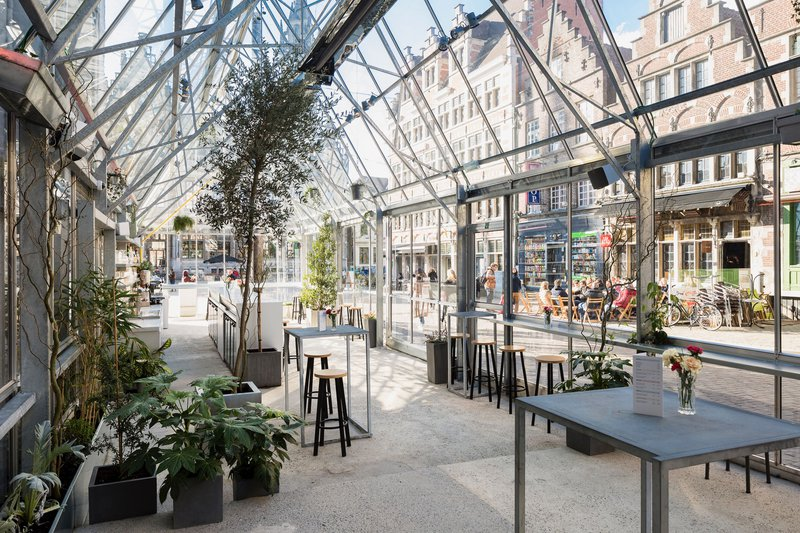 Transparante, moderne locatie in Gent - RAY - House of Wedding