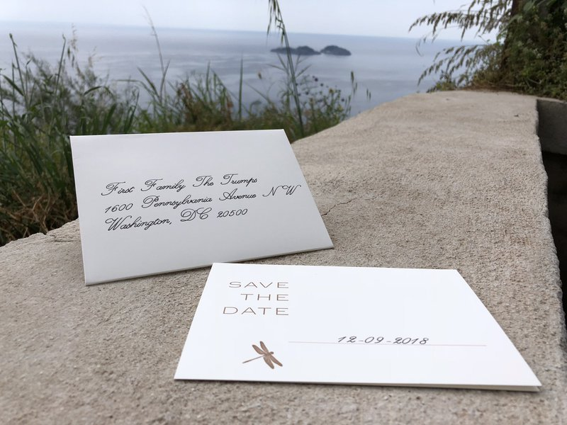 Handgeschreven uitnodiging - Edward Write - House of Weddings