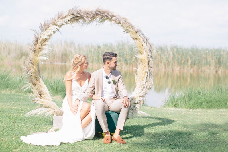 Wedding trends 2019 - Pampasgrass - Wedding Planning & Styling: Art of Events - Fotograaf: Armando Diva - House of Weddings