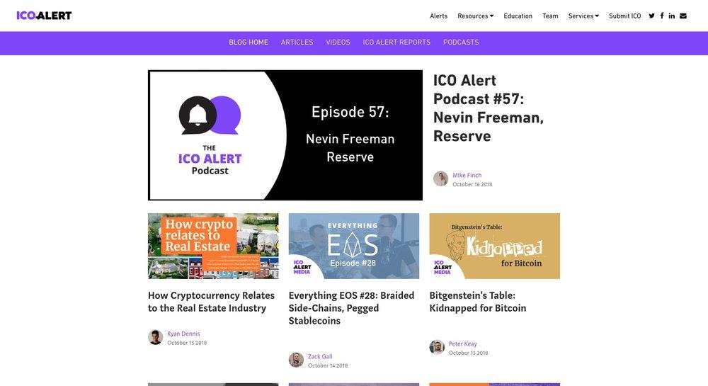ICO Alert Media Blog