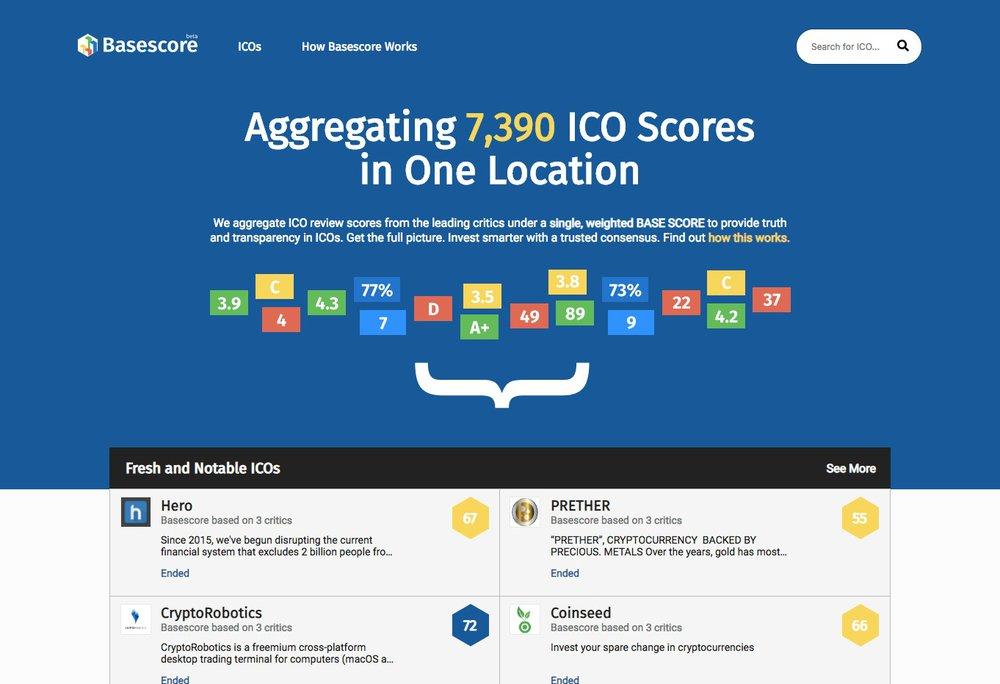 Basescore ICO Research Platform