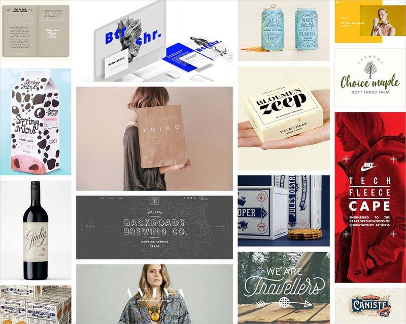 7 creatieve lettertype trends voor 2019
