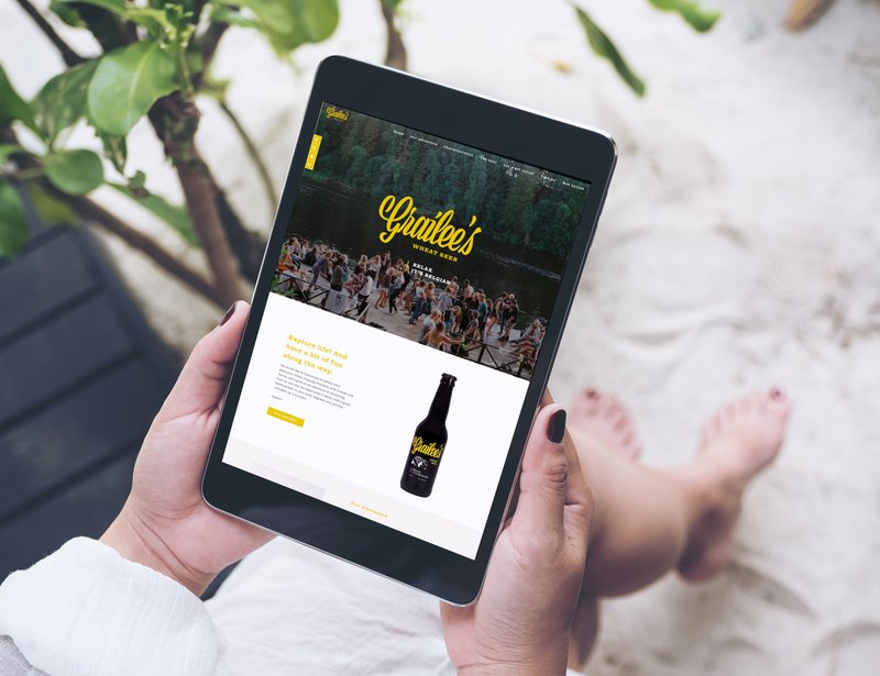 Webdesign & development voor Grailee's