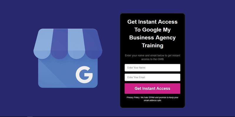 Google My Business entrepreneur course sign up