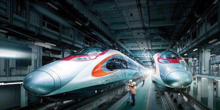 canton fair high speed train