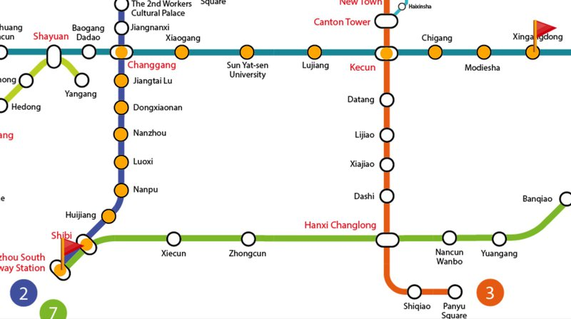gaungzhou south to canton fair