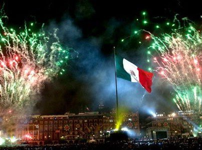Día de la Independencia in Mexico September 15th