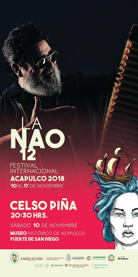 12th Annual NAO International Festival Acapulco - November 10-17, 2018