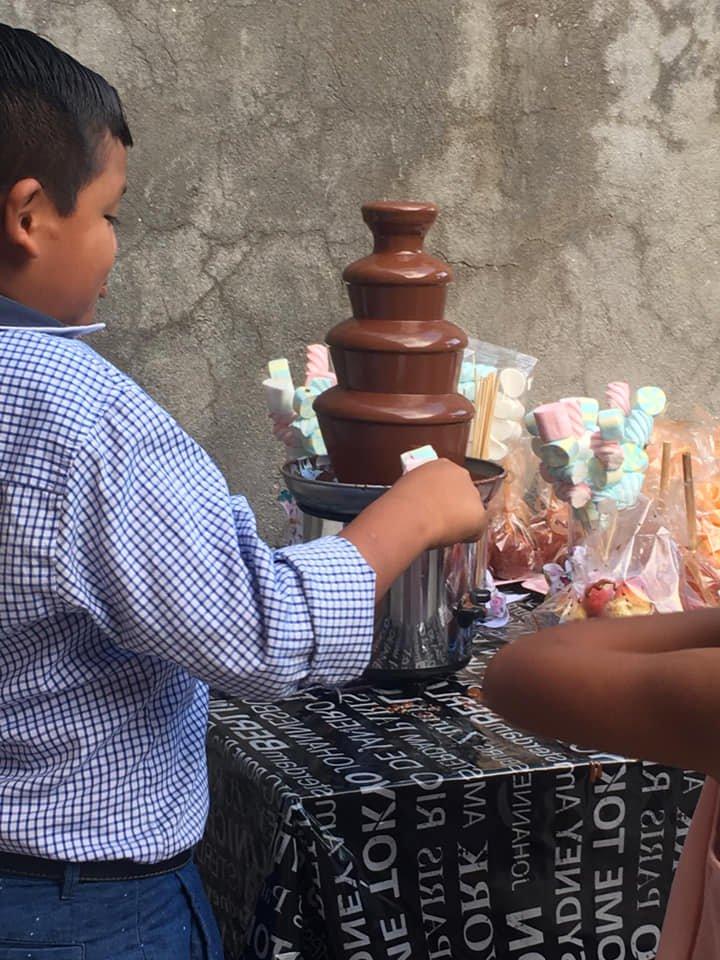Chocolate Fountain - Acapulco Birthday Party