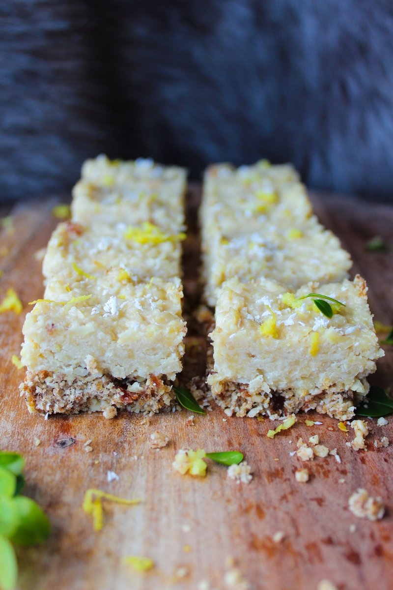 Raw Lemon & Chai Latte Cheesecake