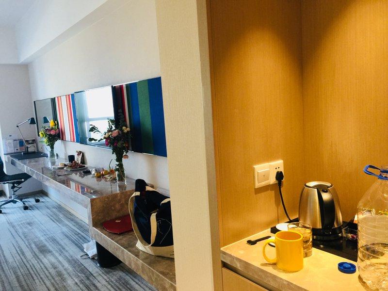 Comfy beds at Holiday Inn Express Shenyang Holiday Inn Express Shenyang -  Spacious Room