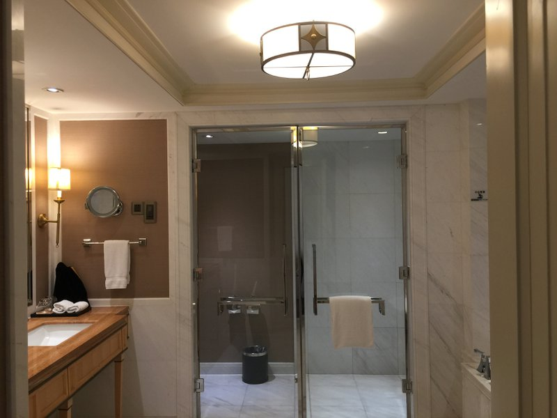The Astor Hotel in Tianjin - Bathroom the size of a bedroom