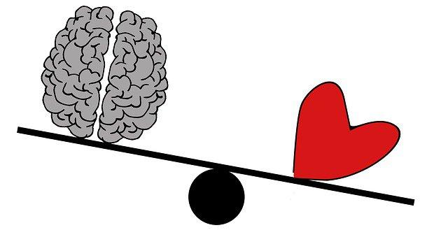 Balance entre coeur et raison : le coeur emporte la décision