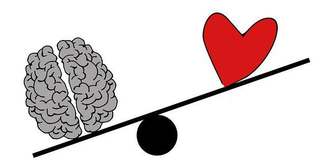 Balance entre coeur et raison : la raison emporte la décision
