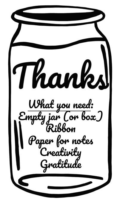 Gratitude jar.