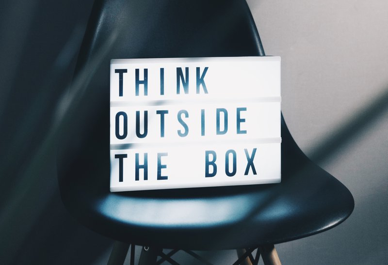 Curiosity allows you to think outside the box