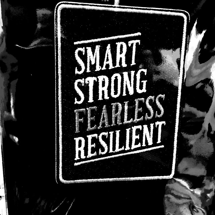 Business challenges will happen but you're smart, strong, fearless and resilient