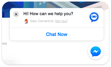 Facebook Customer Chat Persistence