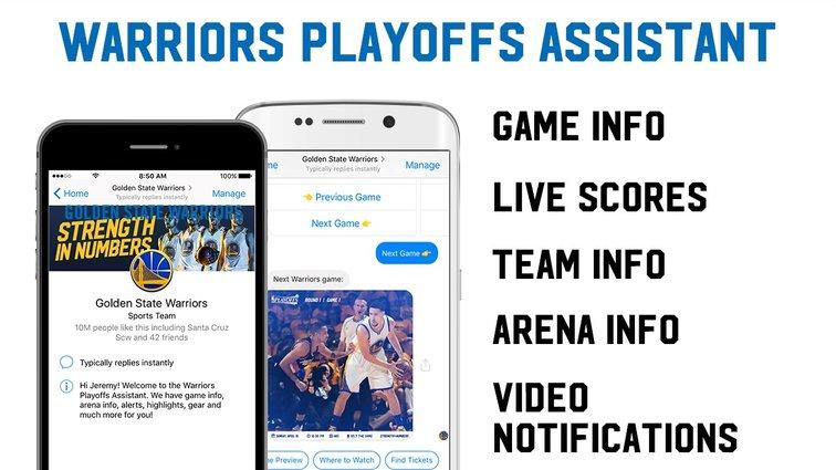 Golden State Warriors on Facebook Messenger