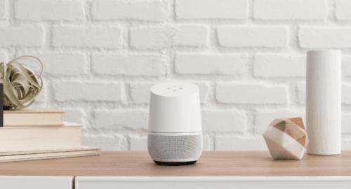 Alexa vs Google Home - Smart Speaker On Desk