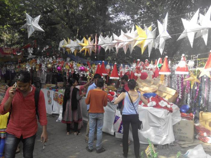 Christmas at Hill Road, Bandra